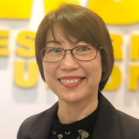 Michelle Mak at Accounting & Finance Show Asia 2019