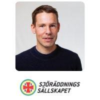 Fredrik Falkman | Head of Innovation | Swedish Sea Rescue Society » speaking at UAV Show