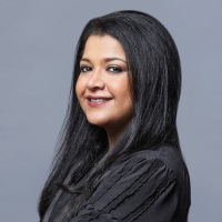 Alia Fawad at Marketing & Sales Show Middle East 2019