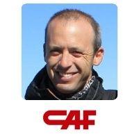 Jon Oiartzabal Iradi, Product Line Manager in Metro, CAF