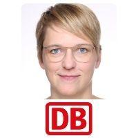 Annika Hundertmark, Head of Digitization of the Railway System, Deutsche Bahn