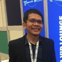 Raden Kurnia Supriadi at Telecoms World Asia 2020