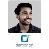 Tarun Vemulkar | Co-Founder & CTO | Semarion » speaking at Advanced Therapies
