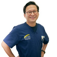 Dr Marvin Kung at The Vet Expo 2020