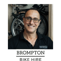 Julian Scriven | Managing Director Brompton Bike Hire | Brompton » speaking at Solar & Storage Live