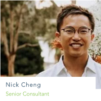 Nick Cheng | Senior Consultant | Fresh Accounting » speaking at Accounting Show Asia