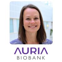 Lila Kallio | Director | Auria Biobank » speaking at Genomics LIVE