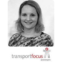 Ms Louise Coward   Head Of Insight   Transport Focus » speaking at World Passenger Festival