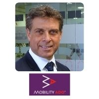Carlos Arias   Digital transformation Chief Officer   MOBILITY ADO » speaking at World Passenger Festival