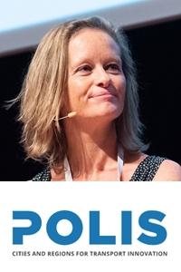 Karen Vancluysen | Secretary General | Polis Network » speaking at MOVE