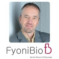 Mr Lars Stockl | Senior Director Buisness Development | FyoniBio – Service Branch of Glycotope » speaking at Festival of Biologics USA