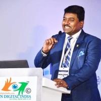 Hari Krishna Maram | Chairman, Digital Brand Ambassador | Digital Vision India » speaking at Connected India