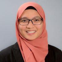 Syasha Riza at Accounting & Finance Show Malaysia 2021