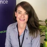Vanessa Bosnich at Accounting & Finance Show Hong Kong 2021