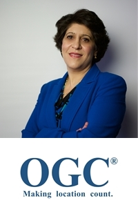 Nadine Alameh   Chief Executive Officer   Open GeoSpatial Consortium » speaking at MOVE America