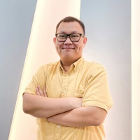 Boni Andika at Seamless Indonesia 2021