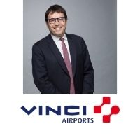Nicolas Notebaert | CEO of Vinci Concessions, President of | VINCI Airports » speaking at World Aviation Festival