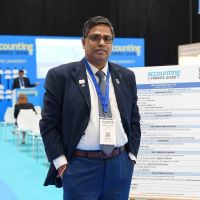 Tamil Selvan Ramadoss at Accounting & Finance Show Asia 2021