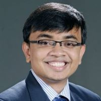 Indradeep Das at Accounting & Finance Show Asia 2021