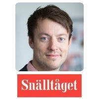 Carl Adam Holmberg |  | Snälltåget » speaking at World Passenger Festival