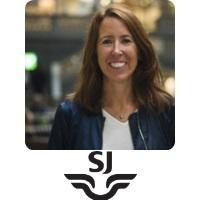 Jenny Gejke | Head Of Digital Channel Development | Swedish Rail » speaking at World Passenger Festival