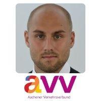 Dominik Elsmann, Head of Cross-border Public Transport, Aachen Vekhersverbund