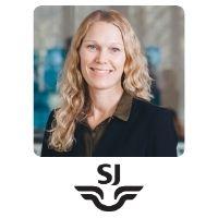 Marianne Heidenberg, Revenue Manager, SJ
