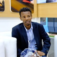 Mebratu Delelegn | Operation control center,Director | Ethio-Djubouti Railway operation » speaking at Africa Rail