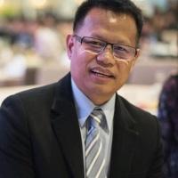 Weeraphan Chomphudang at EDUtech Thailand 2021