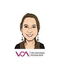 Sanne van Breukelen   Project Leader Infrastructure and Zero Emissions   Vervoerregio Amsterdam » speaking at SPARK