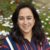 Hoda Mostafa speaking at EduTECH Arabia