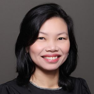 Michelle Koh, Assistant Director, Ngee Ann Polytechnic, Singapore  speaking at EduTECH Asia