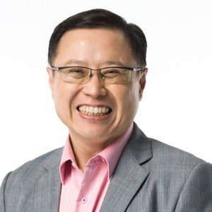 Arthur Lang, CEO, Singtel International Group speaking at Telecoms World Asia