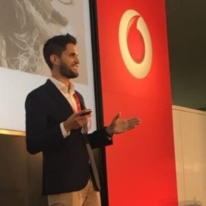 Jaime Diez, CTO, APAC, Vodafone Business speaking at Telecoms World Asia